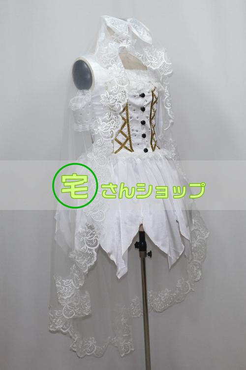 水樹奈々 ウェディングドレス風 コスプレ衣装 [1727]