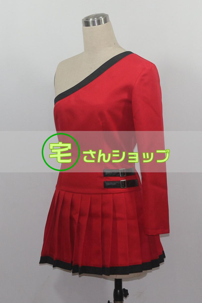 安室奈美恵 25周年 finally アート赤 ドレス コスプレ衣装 [2188]